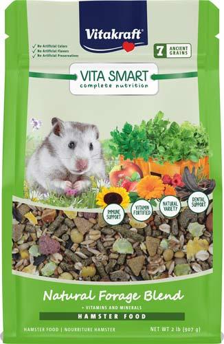 Vitakraft VitaSmart Complete Nutrition Natural Foraging Blend Hamster Food