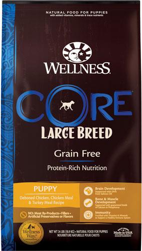 Wellness CORE Grain-Free Large Breed Puppy
