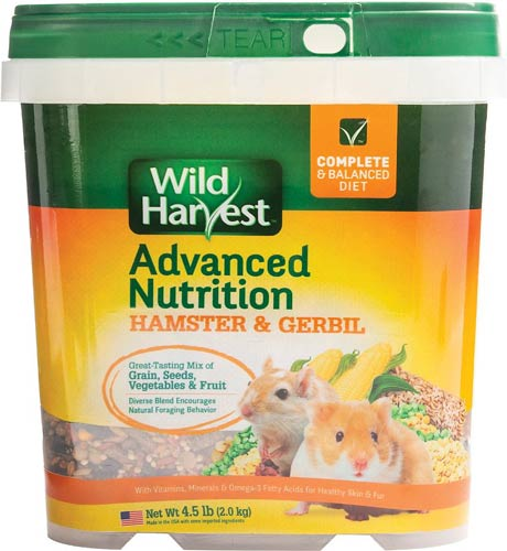 Wild Harvest Advanced Nutrition Gerbil & Hamster Food