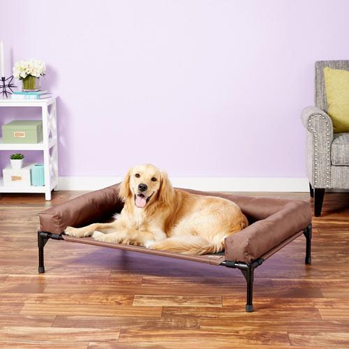 K&H Pet Products Original Bolster Elevated Dog Bed